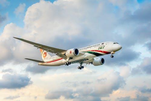 Darmowe zdjęcie z galerii z airbus, biały samolot, biman