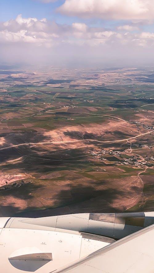 Gratis lagerfoto af flyvning landing, rejse, smukke himmel, travelchallenge