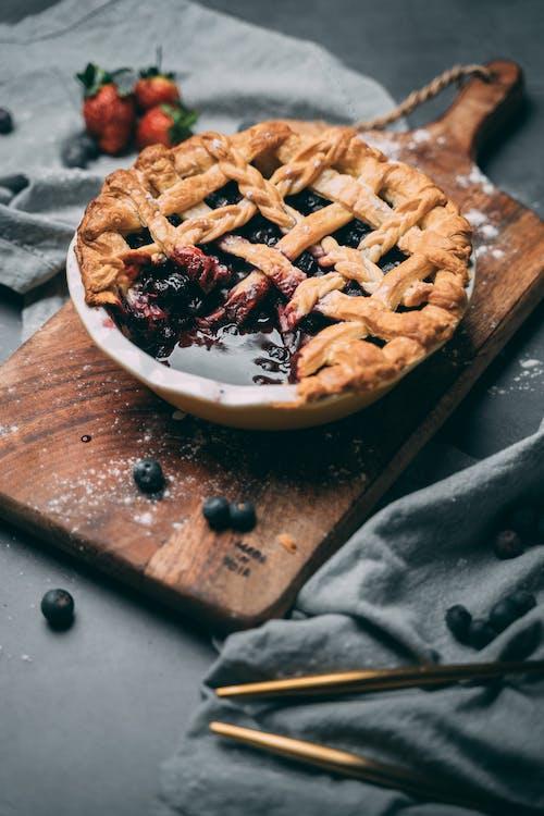 Безкоштовне стокове фото на тему «веган, вишневий пиріг, десерт, домашні страви»