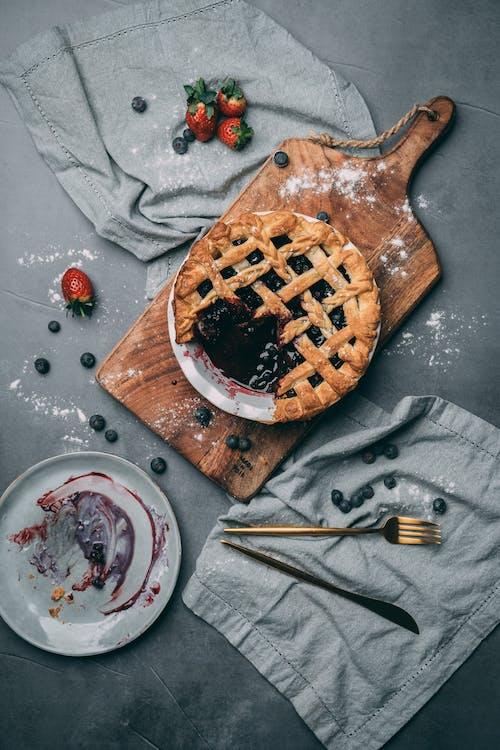 Безкоштовне стокове фото на тему «веган, веганська їжа, вишневий пиріг, десерт»
