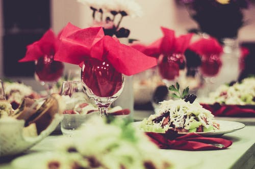 Free stock photo of at table, coffee, fresh salad