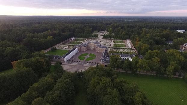 Free stock photo of landmark, building, construction, garden