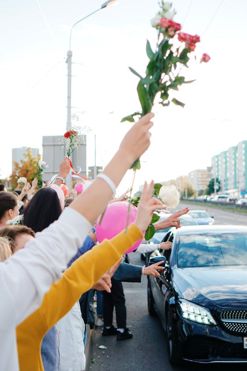 Peaceful Protest in Minsk