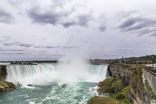 Gratis stockfoto met cascade, mist, mooi uitzicht, natuur