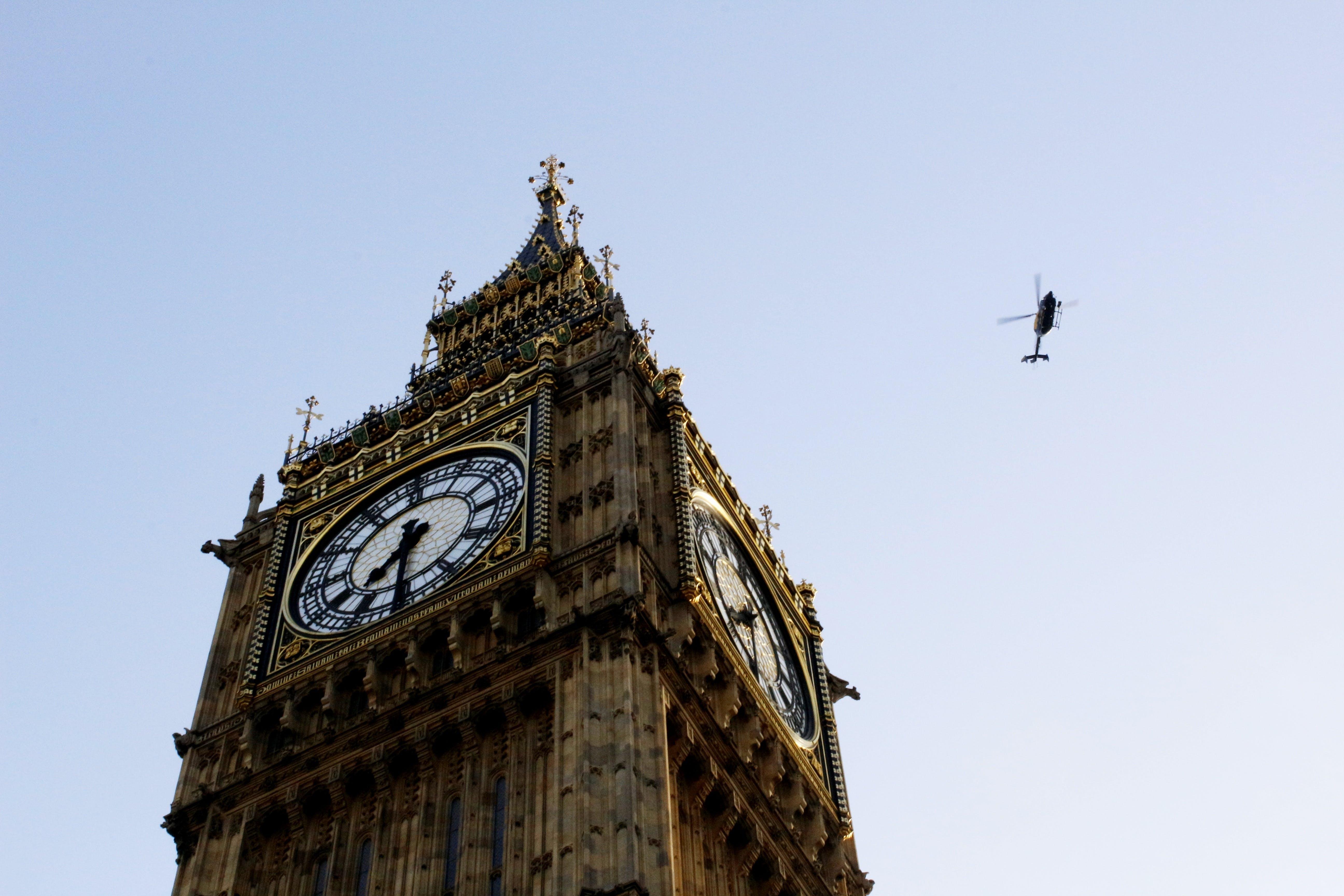 Low Angle Shot Of Big Ben