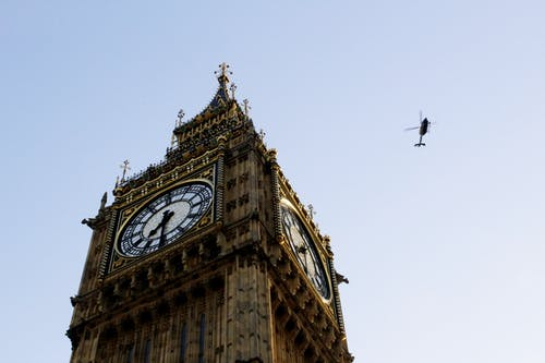 Low Angle Shot Of Big Ben