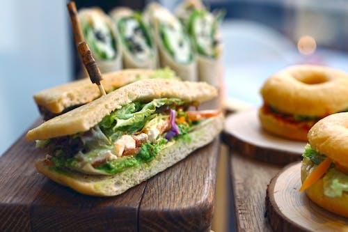 Darmowe zdjęcie z galerii z bułka, chleb, ciasto