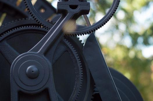Free stock photo of industry, black, work, steel