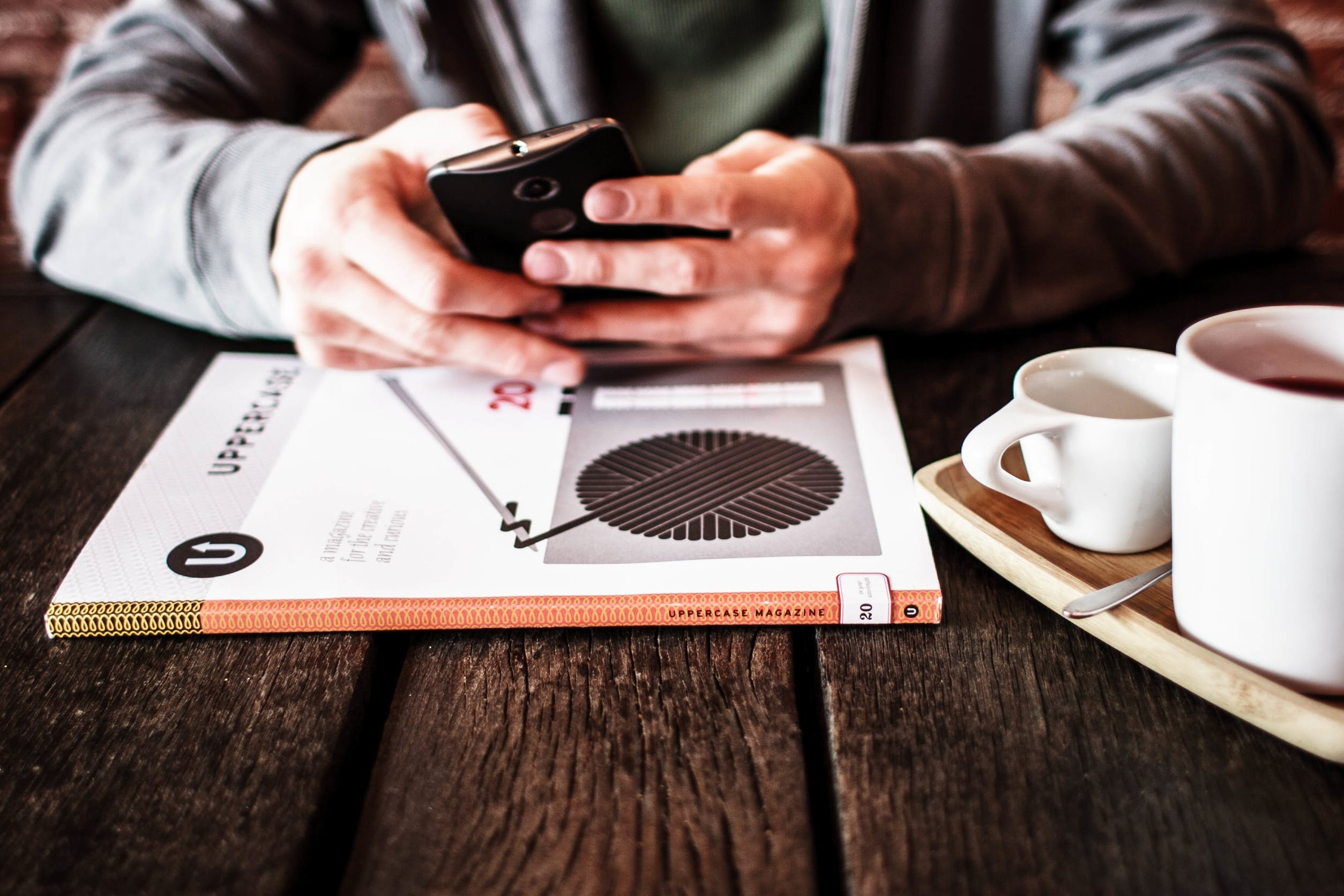Free stock photo of coffee, working, café, technology