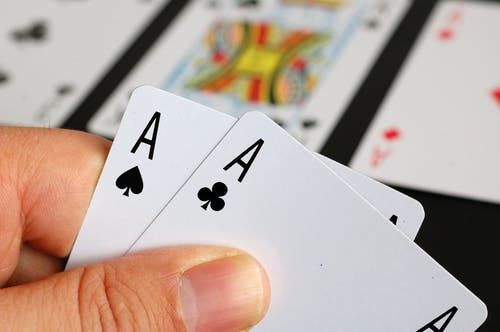 4 of Spade Playing Card
