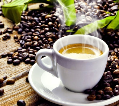 Free stock photo of beans, coffee, cup, café