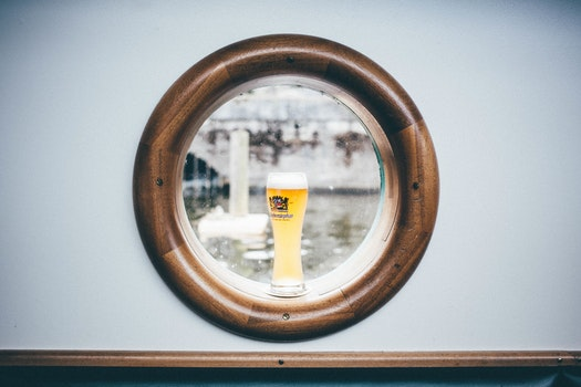 Free stock photo of ship, drink, vessel, window view