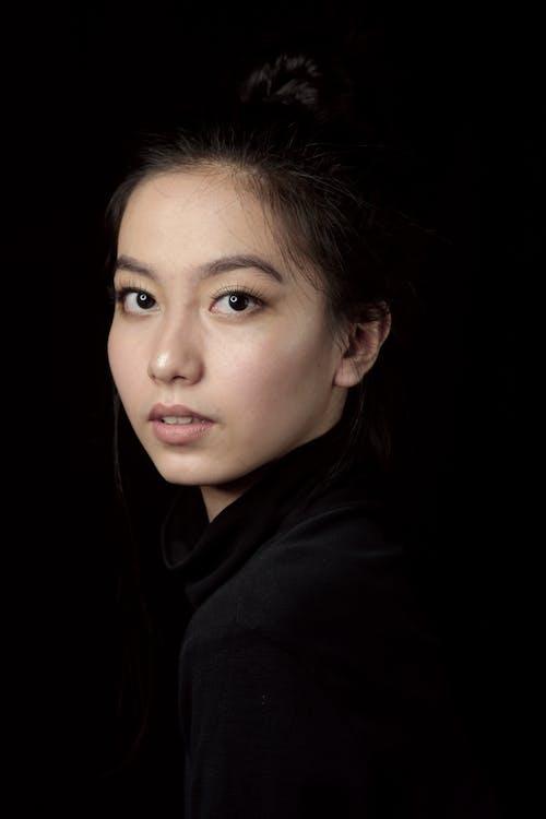 亞洲女人, 亞洲女性, 人臉 的 免費圖庫相片