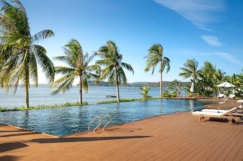 Gratis stockfoto met azuur, baai, balkon