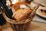 bread, food, eating