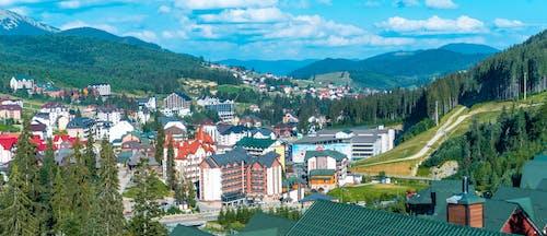 bukovel, 全景, 公園, 城市 的 免費圖庫相片