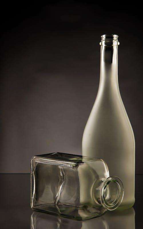 Foto profissional grátis de bebida alcoólica, claro, copo, transparente