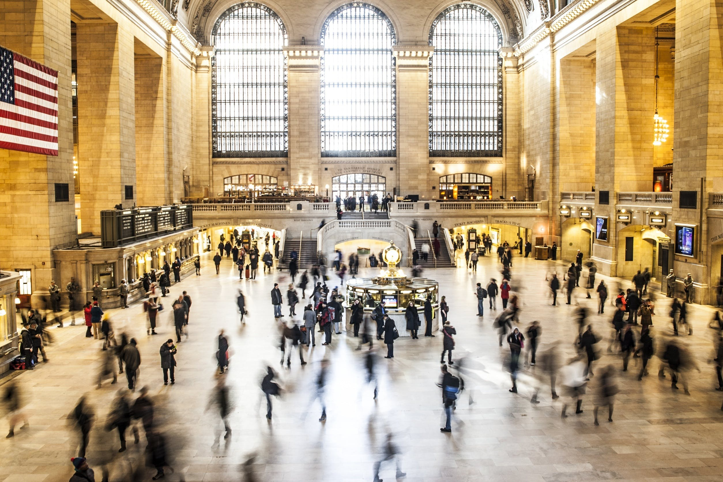 Free stock photo of people, new york, train, architecture