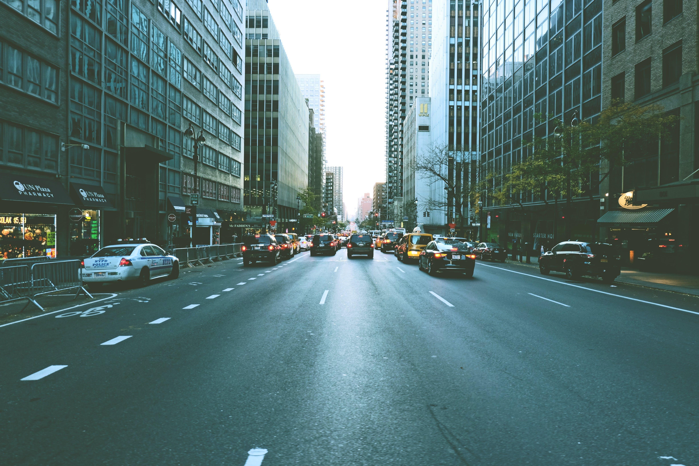 Free stock photo of city, traffic, street, urban