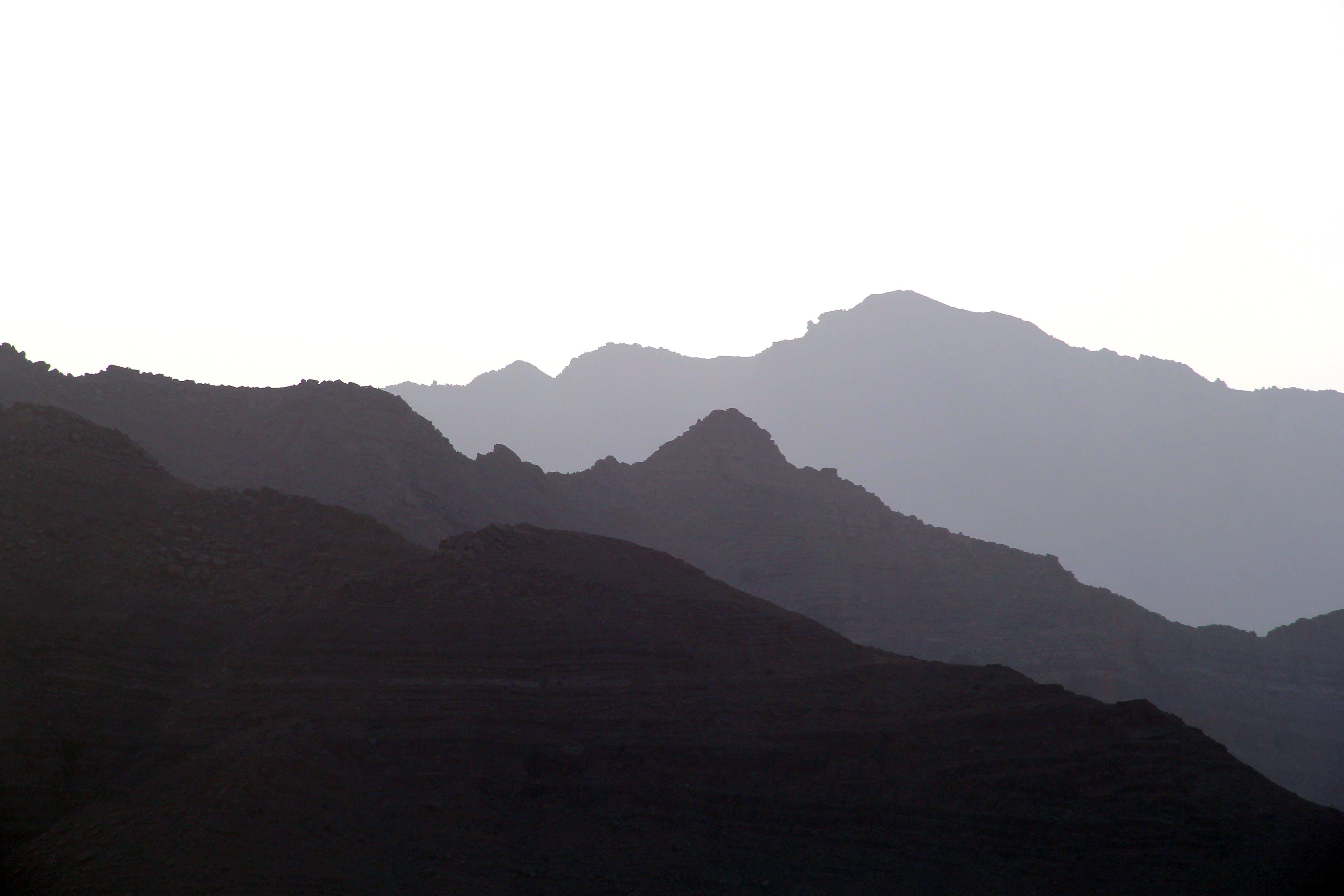 Free stock photo of alpine, haze, high, landscape