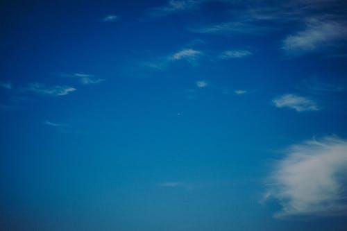 Kostenloses Stock Foto zu 天空, 藍天, 飛機