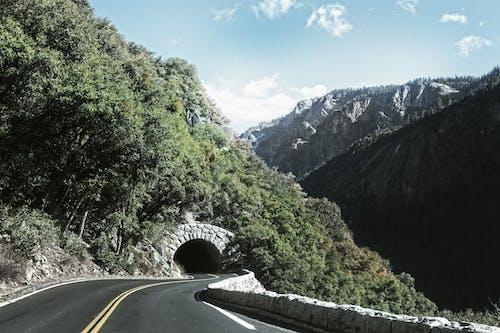 公路旅行, 冒險, 山, 弧線 的 免費圖庫相片