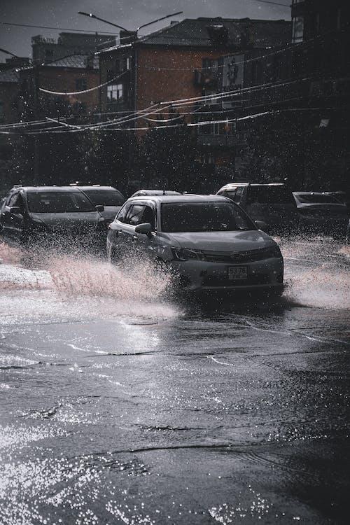 คลังภาพถ่ายฟรี ของ การจราจรในเมือง, ถนนในเมือง, ประเทศมองโกเลีย, รถ