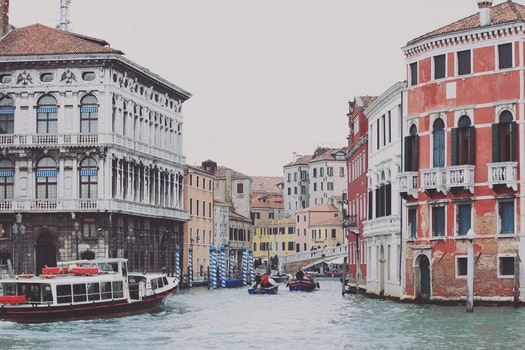 Venice Grand Canal during Daytime