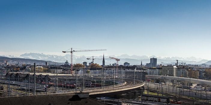 Free stock photo of city, landscape, building, construction