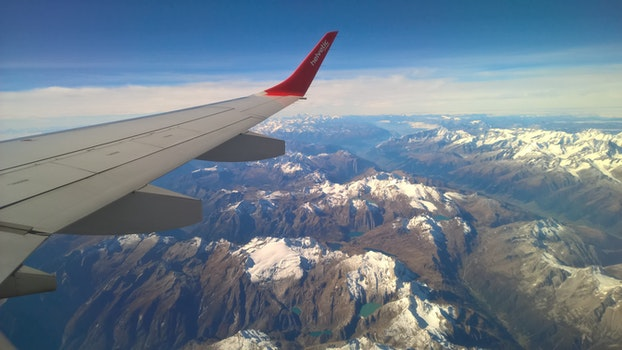 Free stock photo of bird's eye view, mountains, flying, traveling