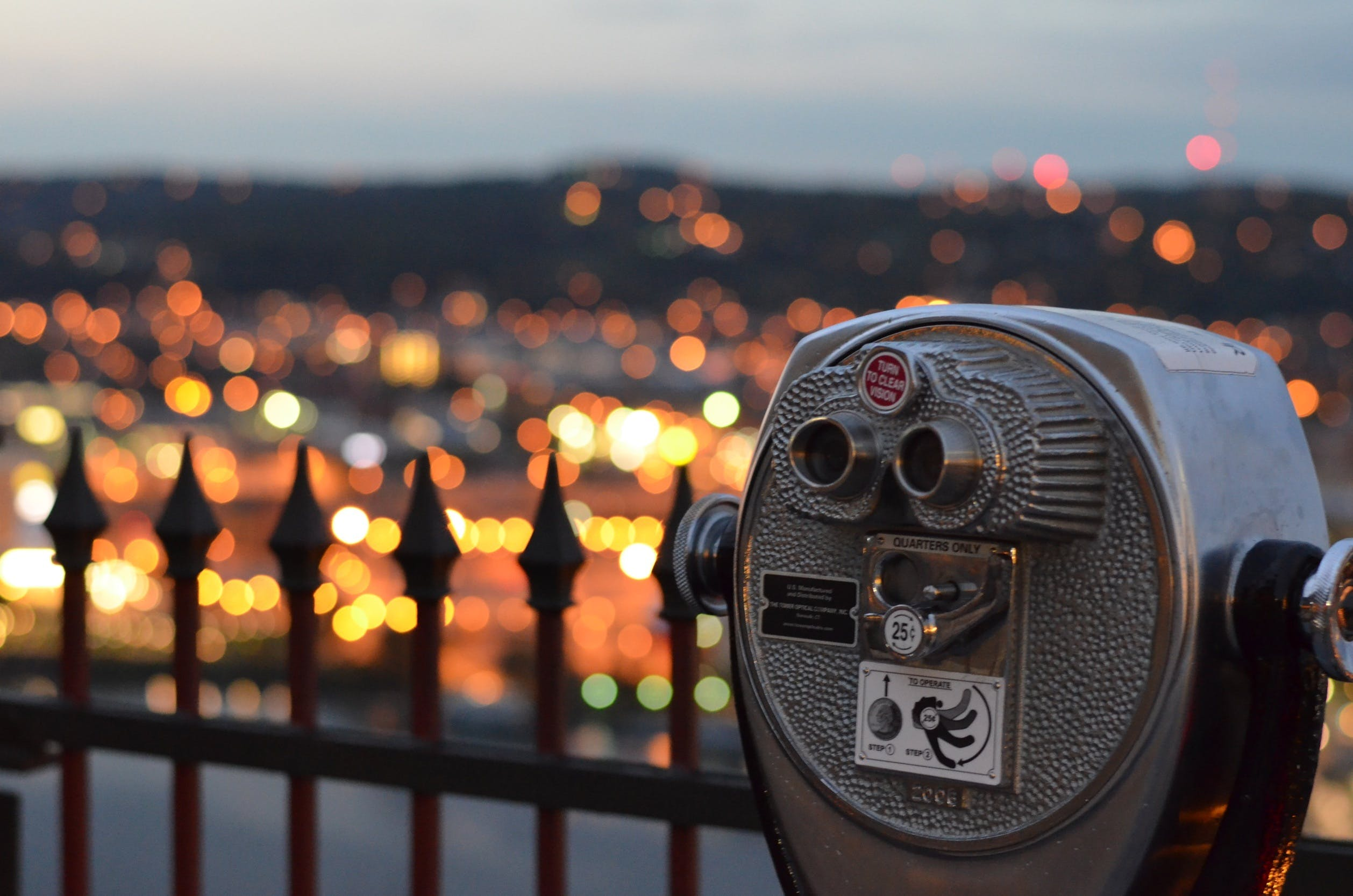 Free stock photo of bright, city, city lights, close up