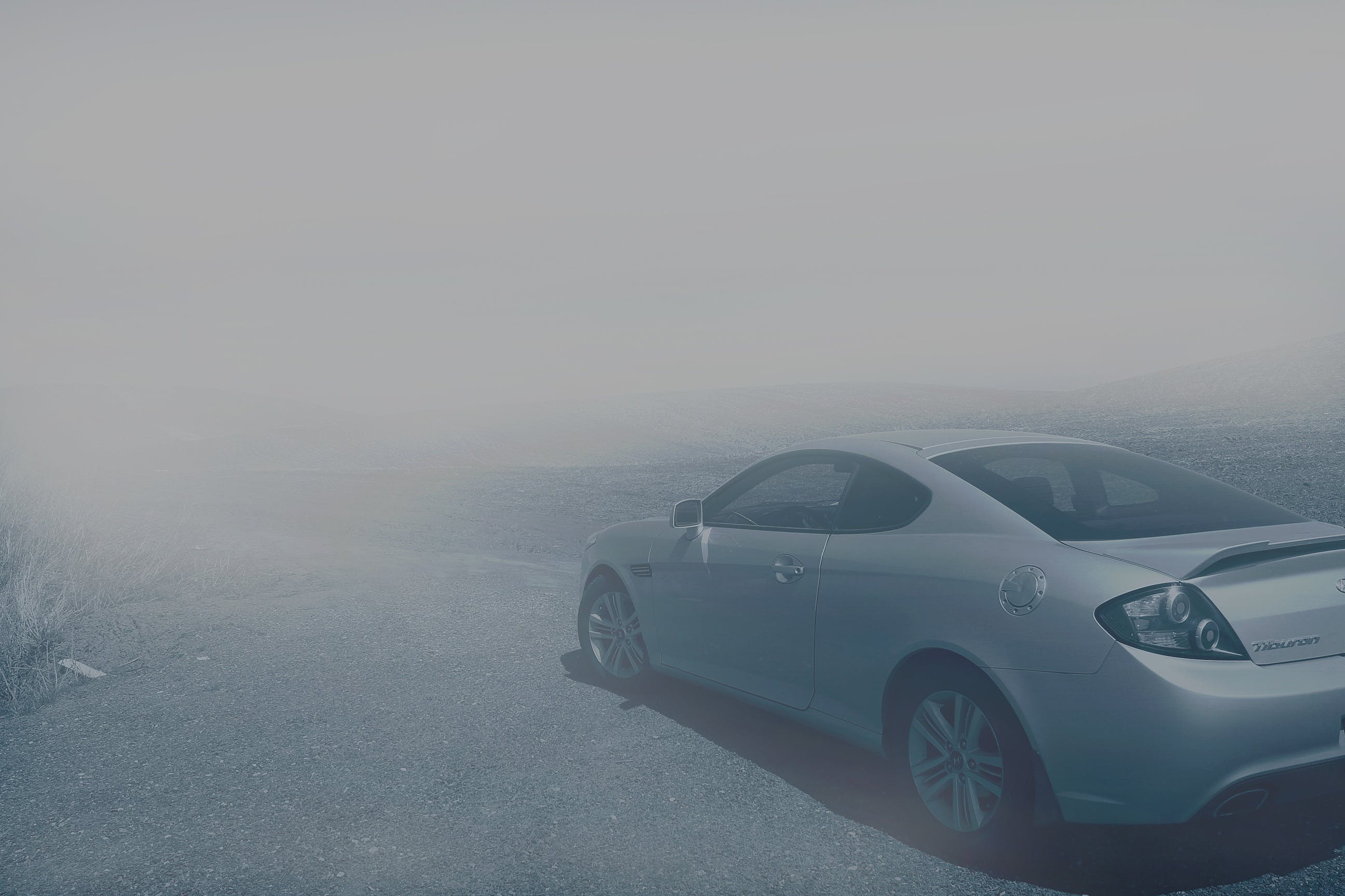 Free stock photo of traffic, weather, fog, car
