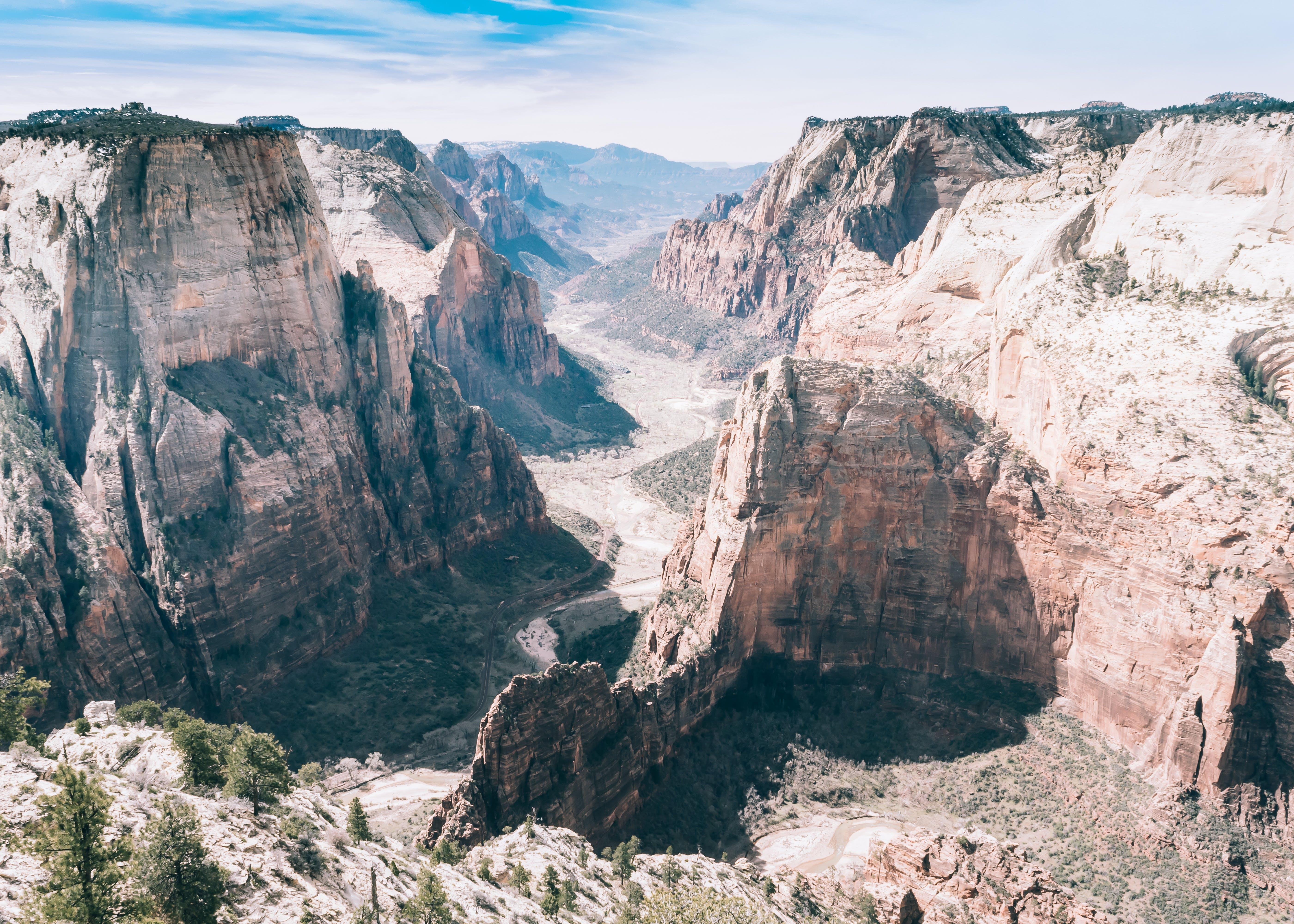 Free stock photo of landscape, rocks, park, cliff