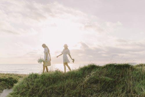 คลังภาพถ่ายฟรี ของ boho, กลางแจ้ง, การเดิน