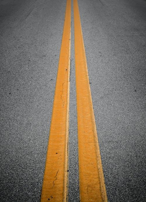 Close-Up Shot of an Asphalt Road