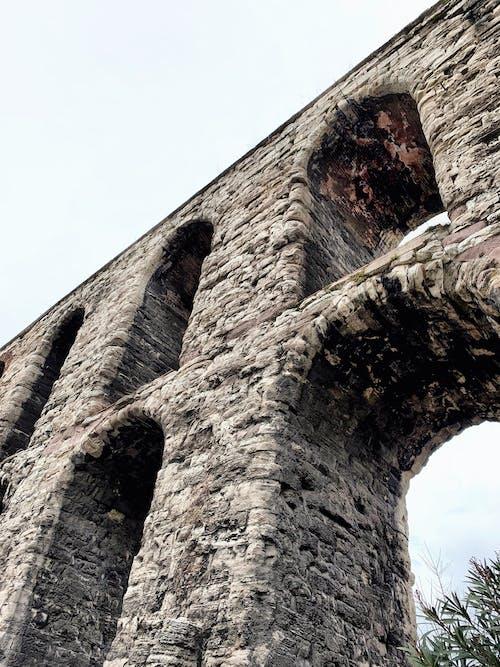 Immagine gratuita di acquedotto, acquedotto romano, antica architettura romana