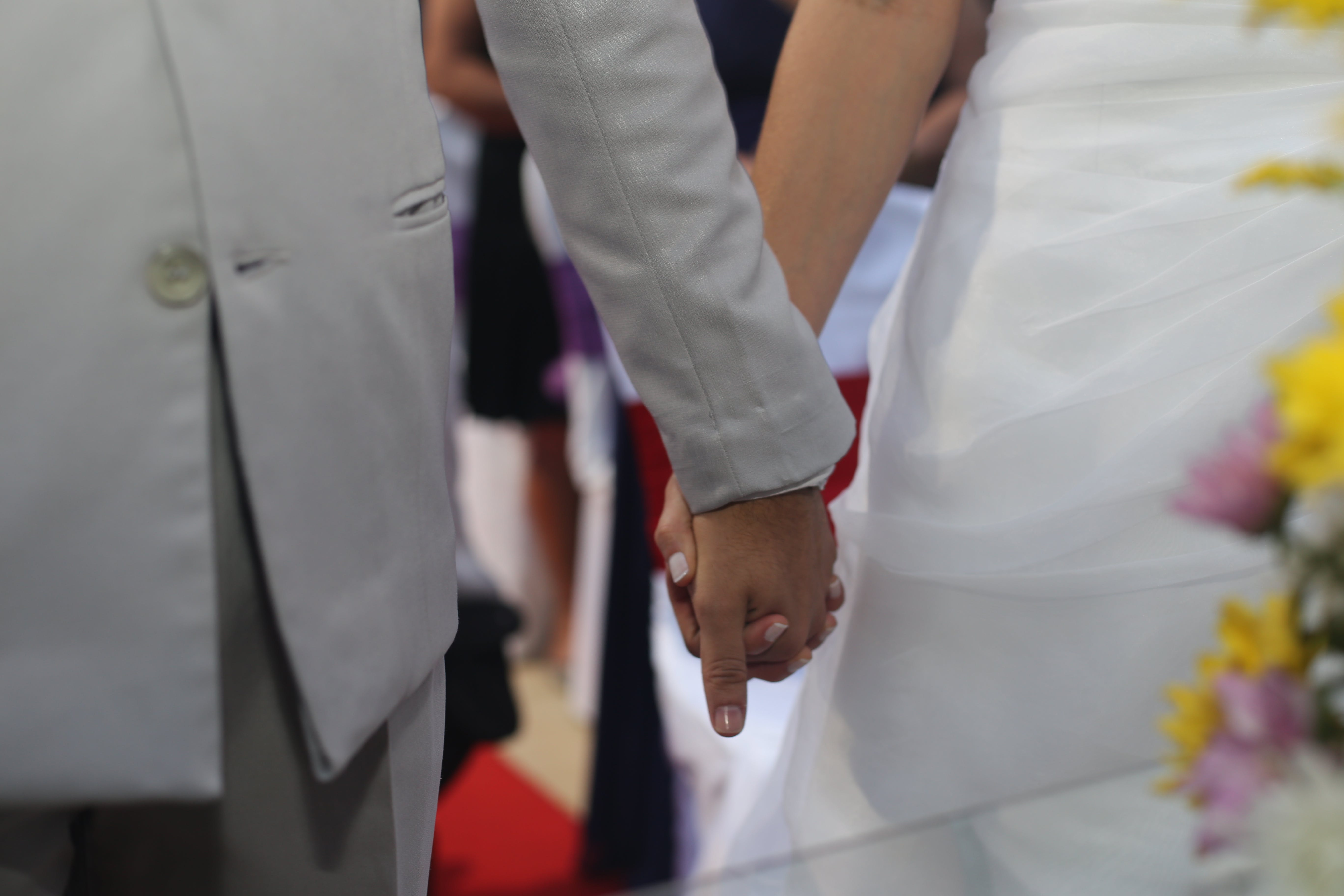 Free stock photo of couple, hands, love, people