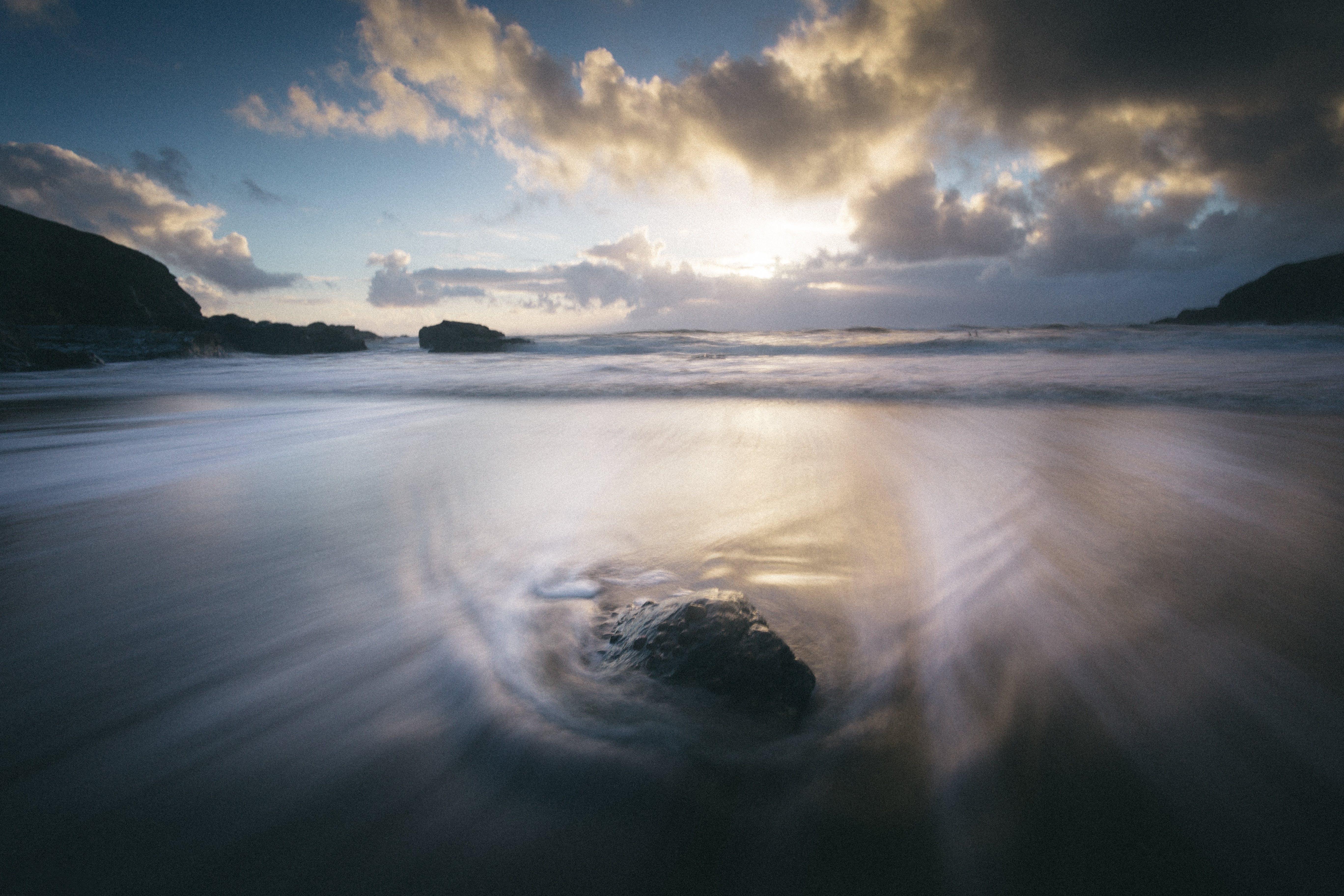 Free stock photo of landscape, sky, beach, water