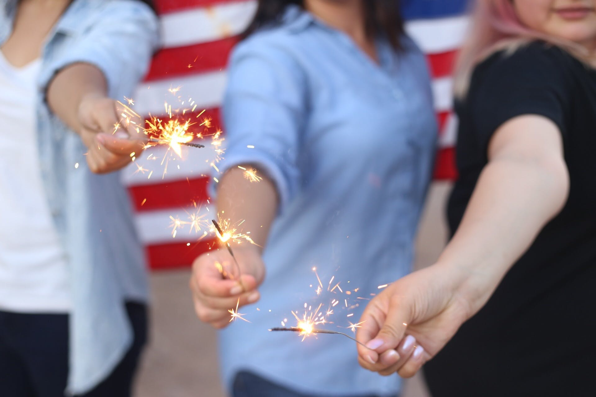 Free stock photo of american, banner, bright, burning