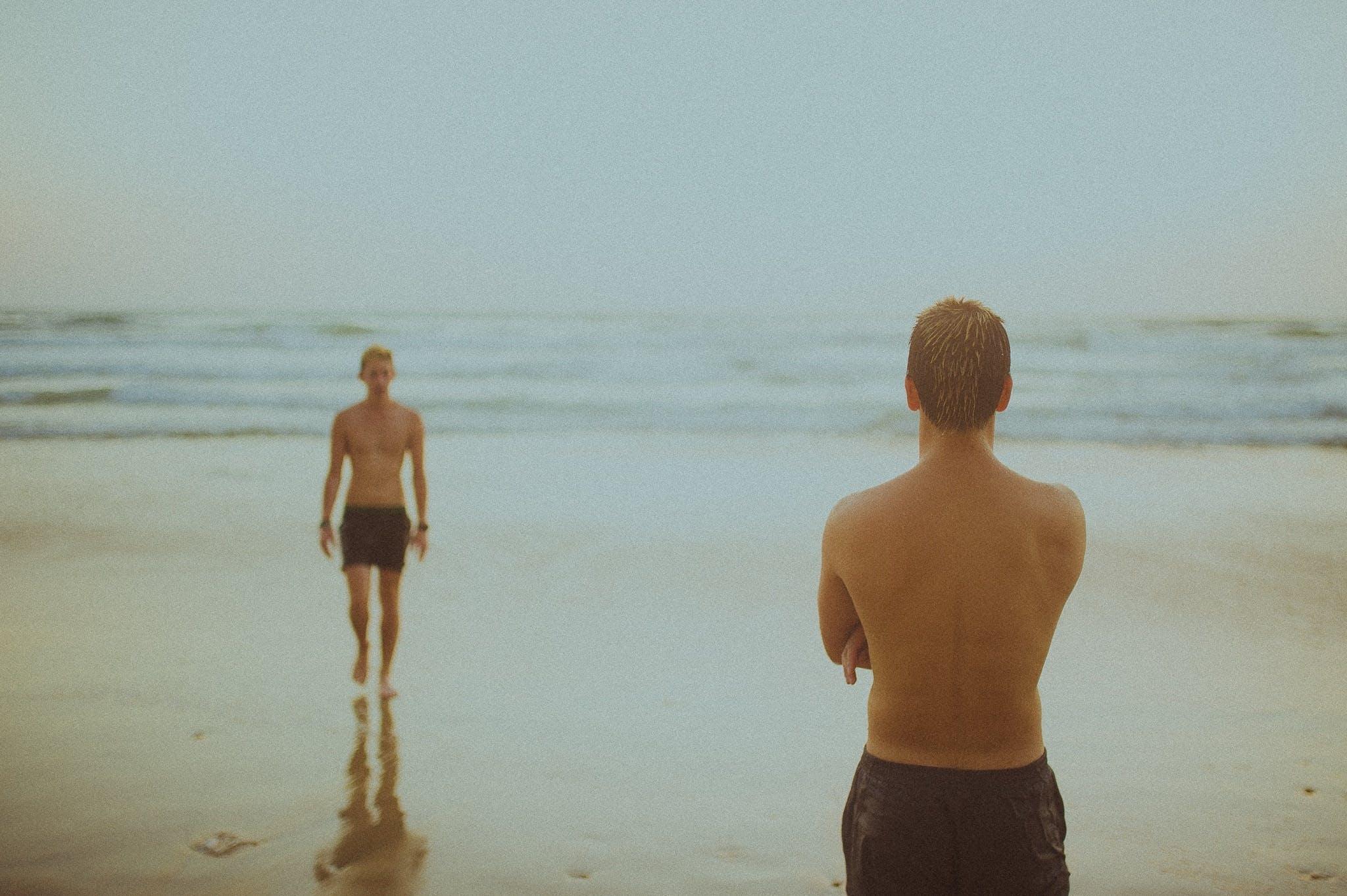 Free stock photo of beach, guys, man, men