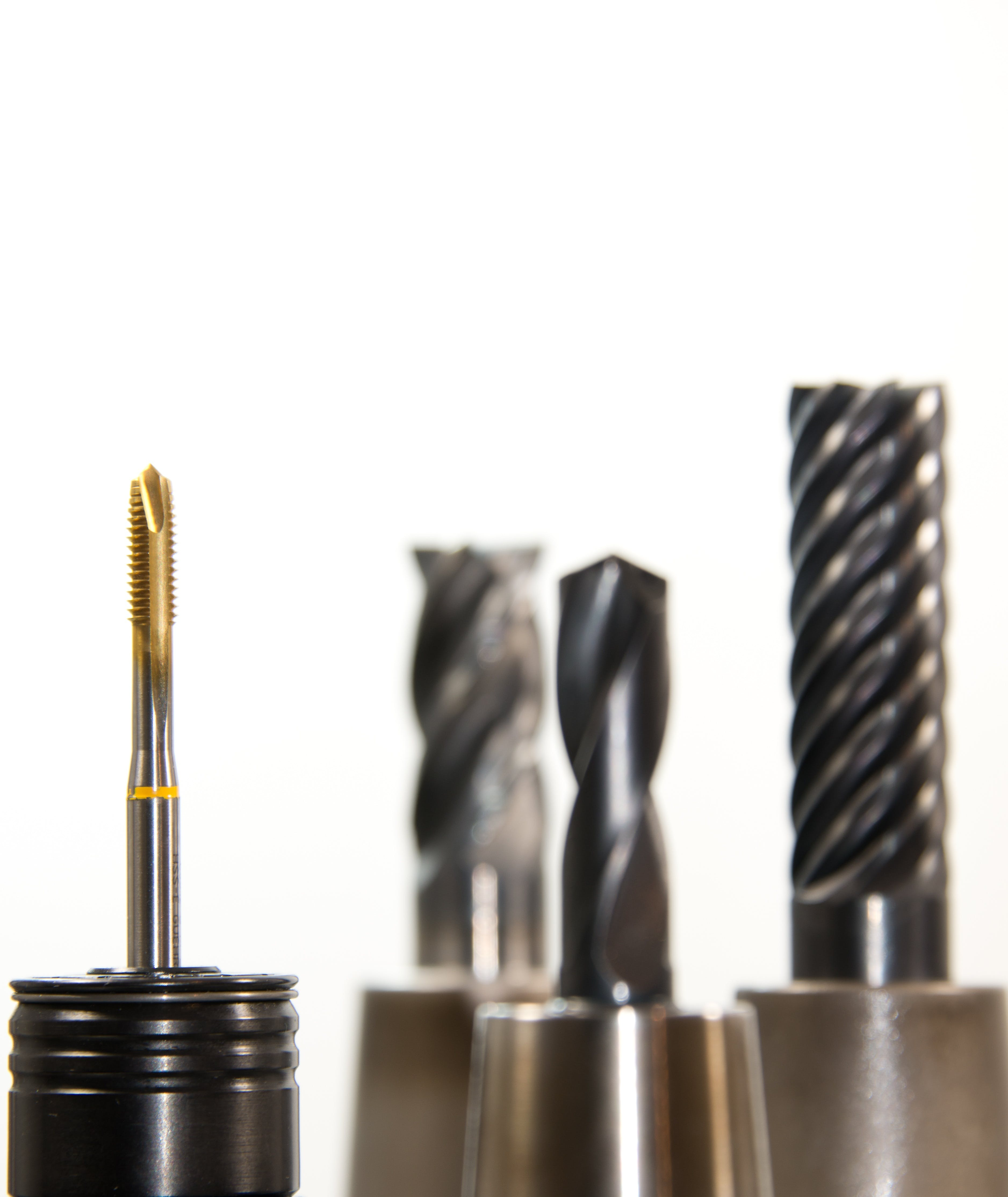 Selective Photo on Gold and Silver Drill Bit