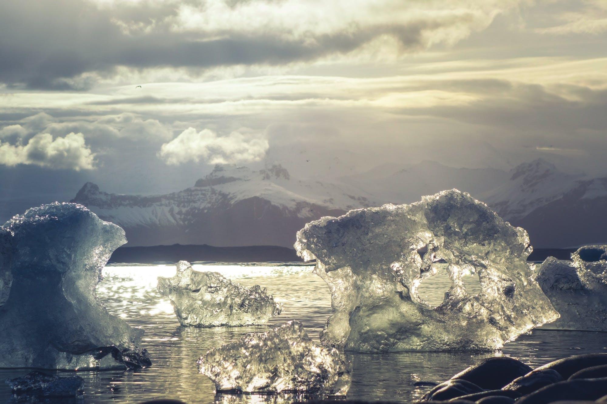 Free stock photo of cold, iceberg, sea, nature