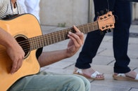musician, musical instrument, string instrument