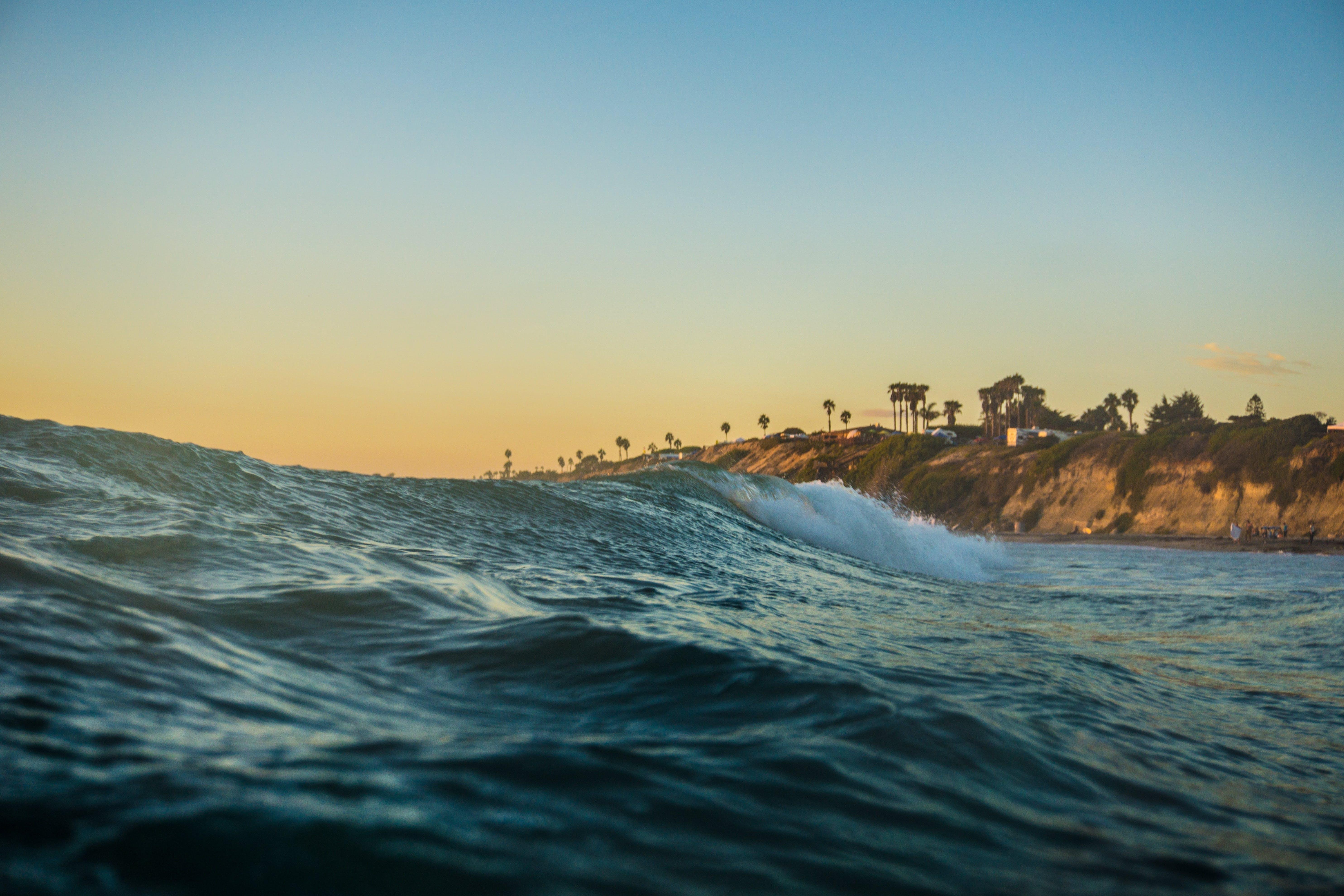 Free stock photo of coast, landscape, ocean, ocean wave