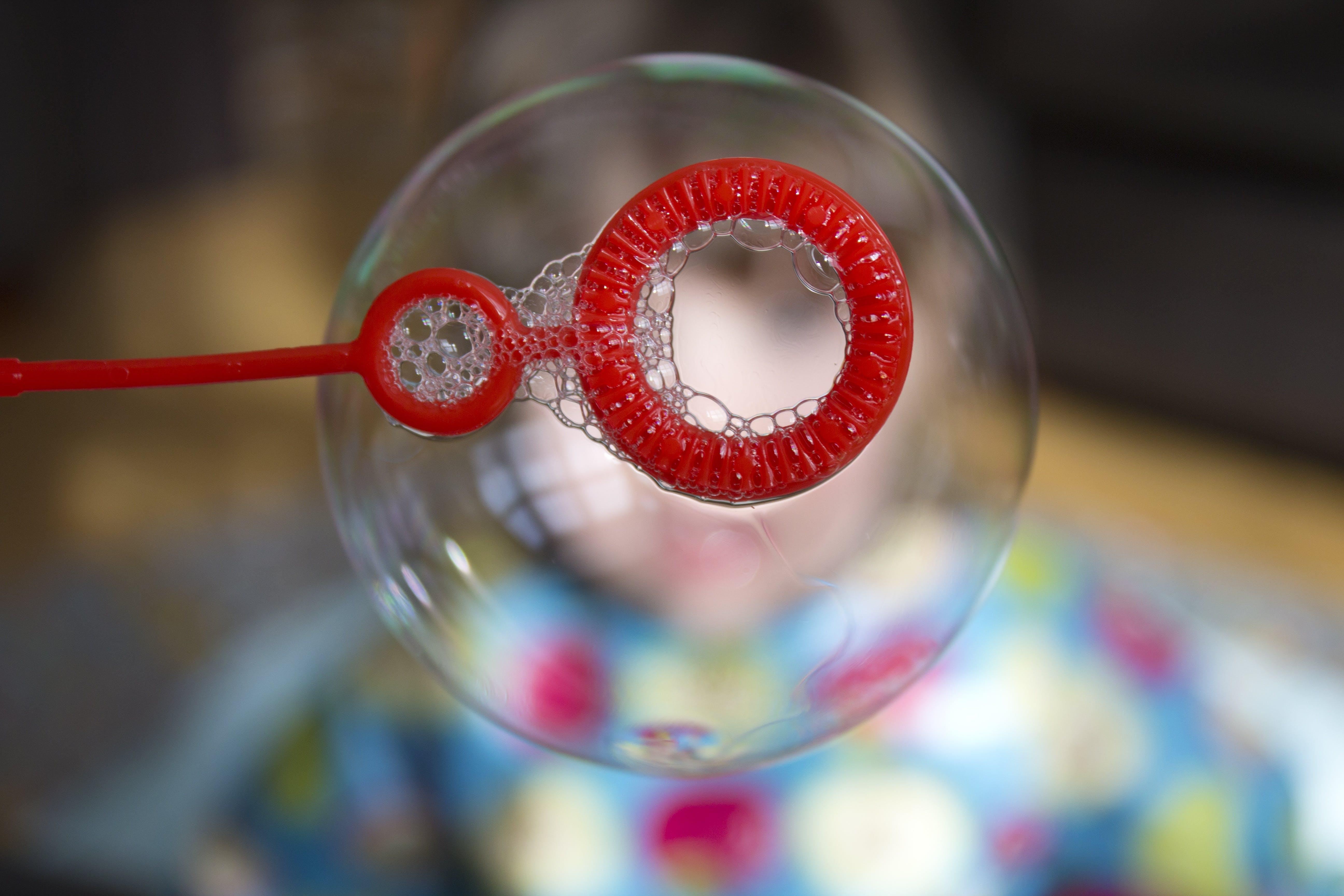 Selective Focus Photography Bubble