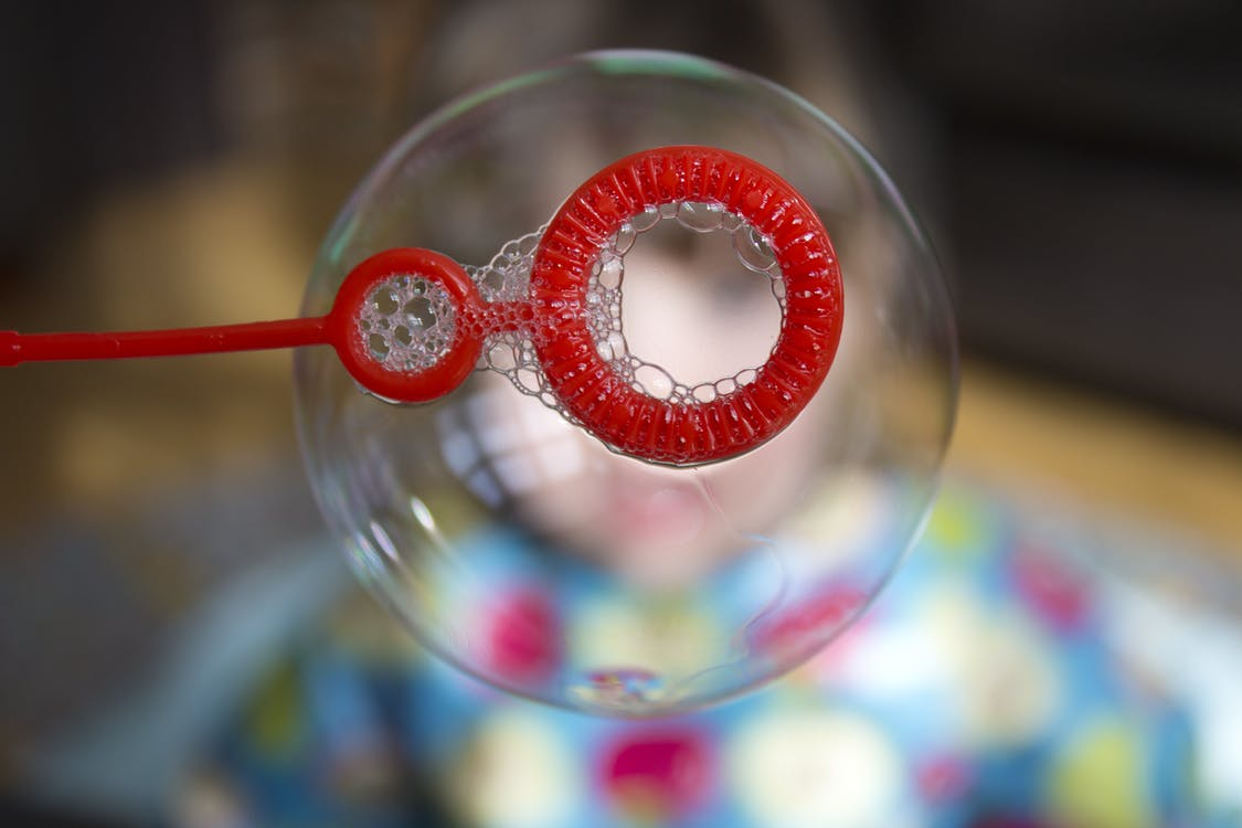 Selective Focus Photography Bubble