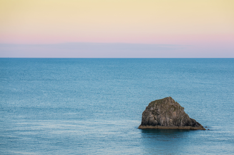Free stock photo of coast, ocean, rock face, scene