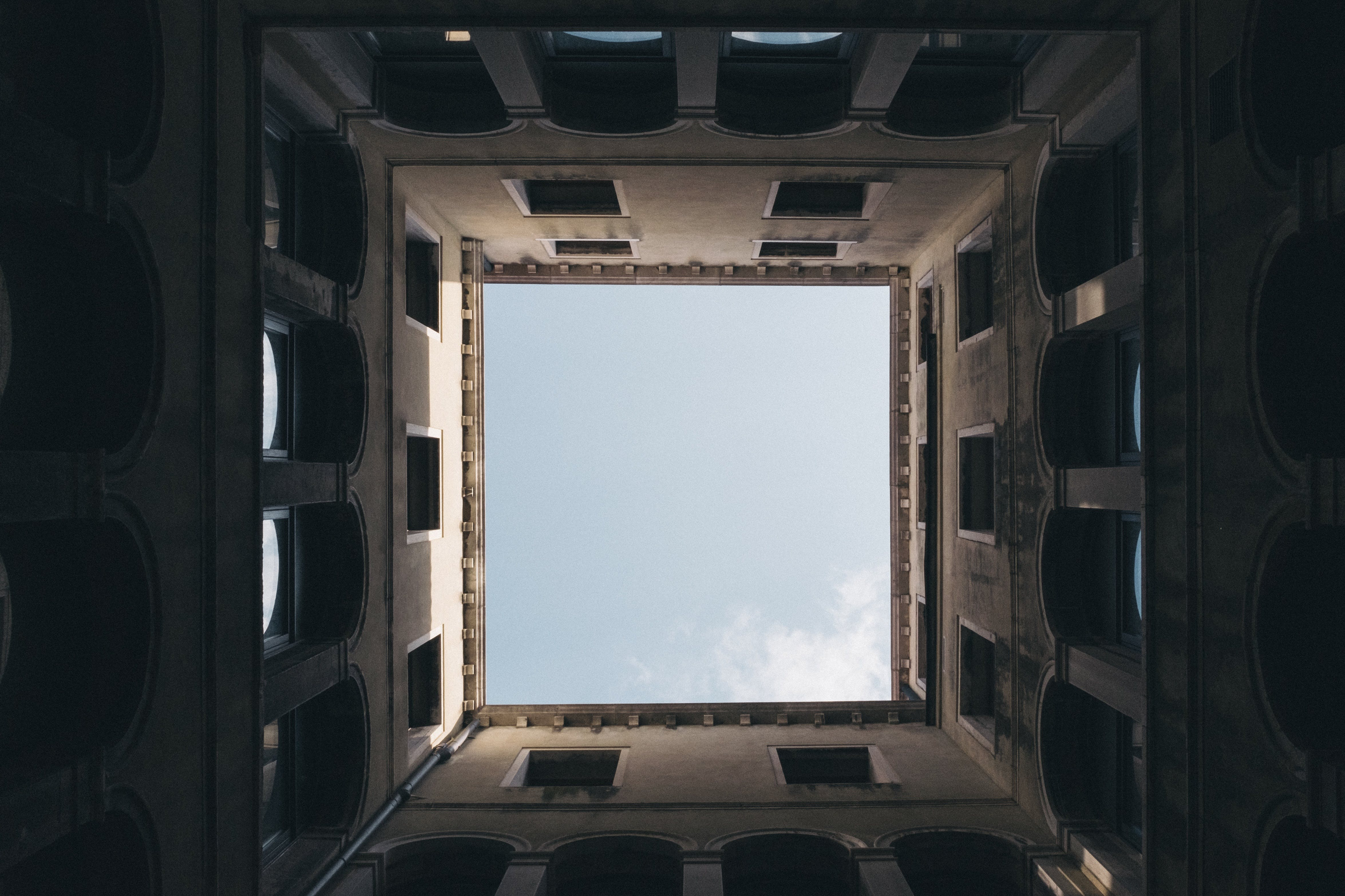 Free stock photo of building, architecture, perspective, arches