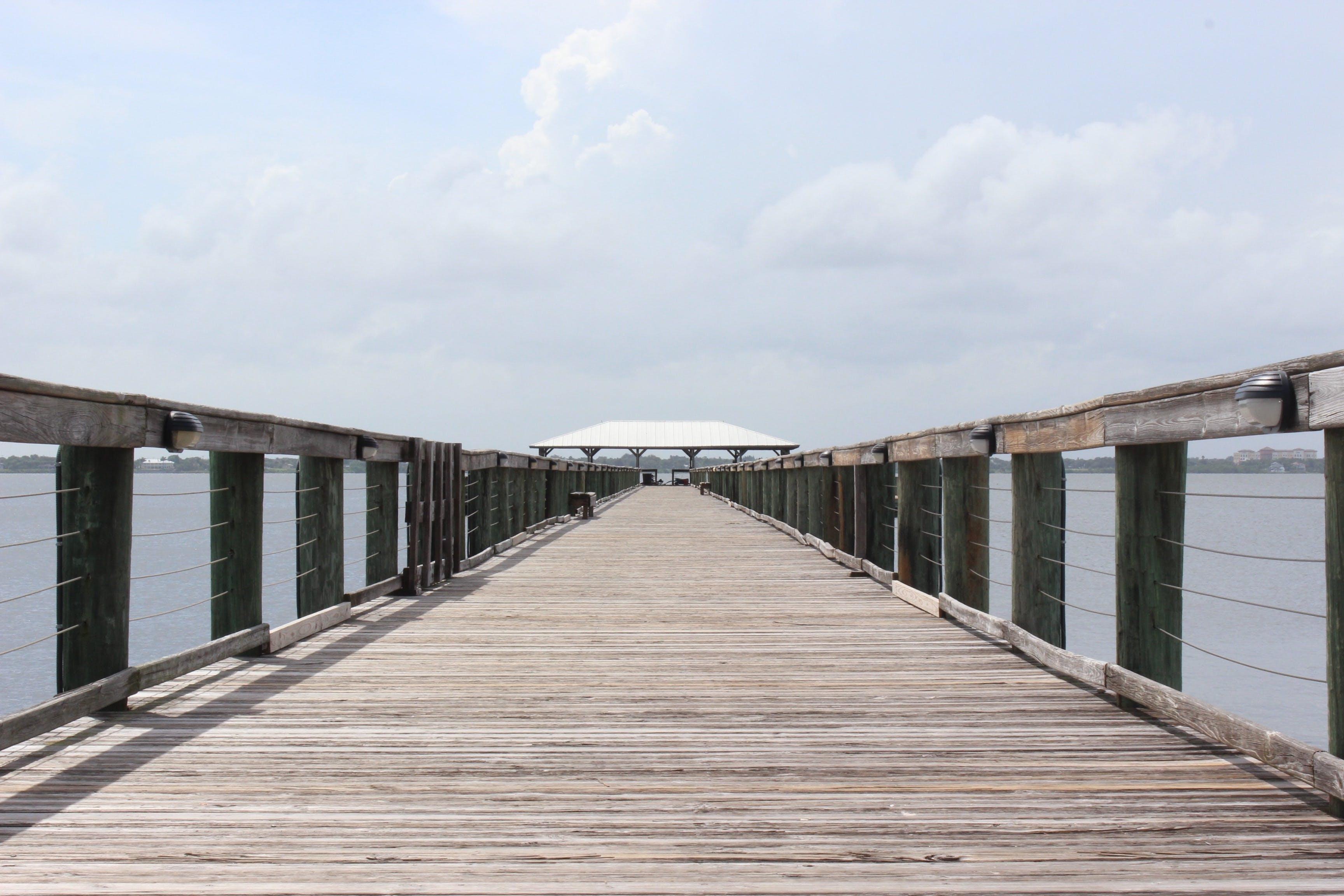 Free stock photo of jetty, sea, beach, vacation