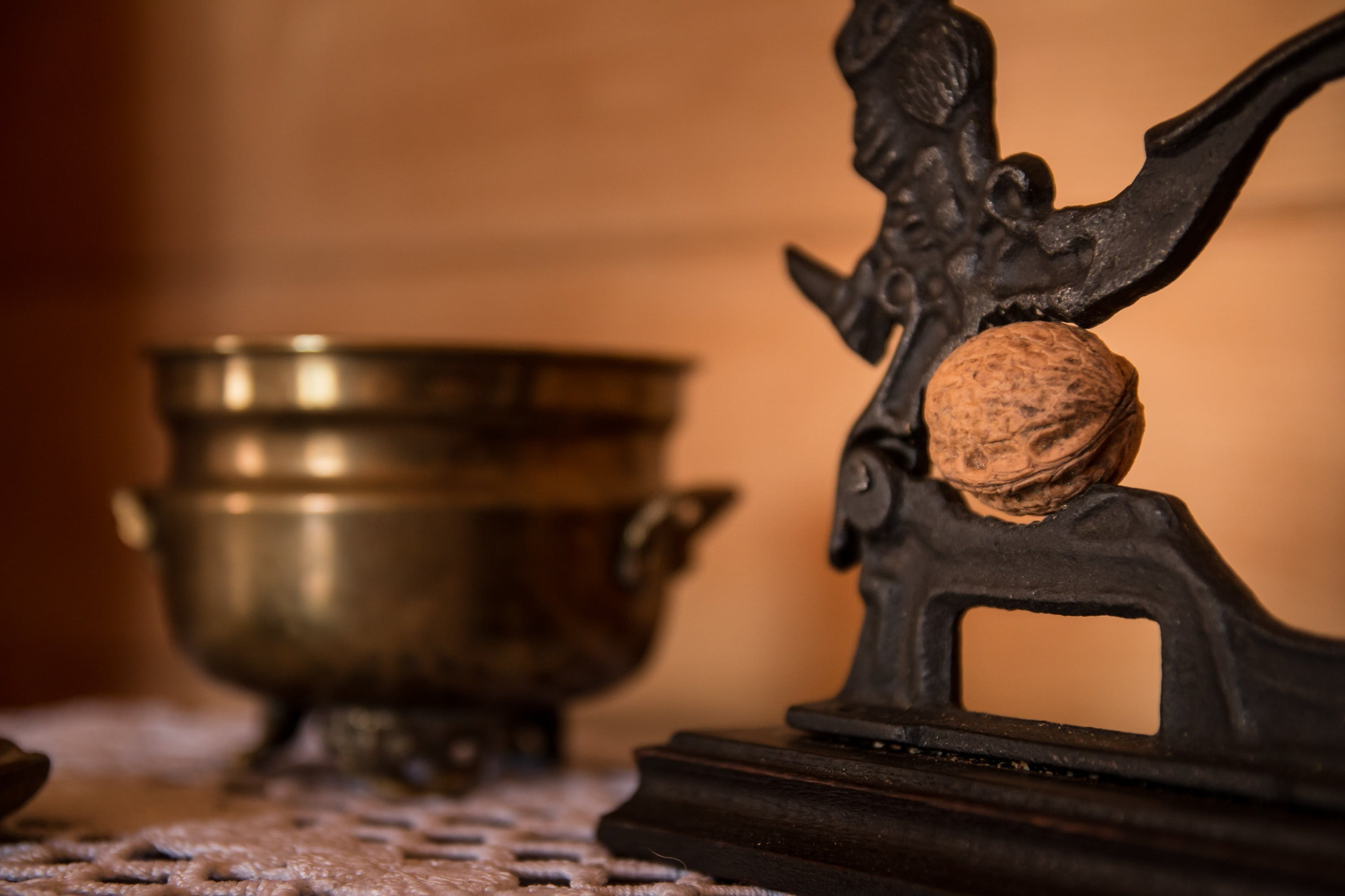 Free stock photo of food, nutcracker, walnut, nut